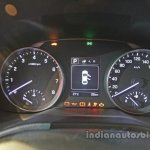 2016 Hyundai Elantra intrument cluster launched in India