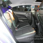 2016 Hyundai Elantra rear cabin launched in India
