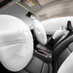 2016 Proton Persona airbags