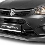 2016 Proton Persona grey front fascia