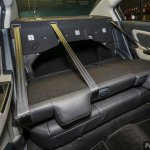 2016 Proton Persona rear seats fully folded