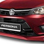 2016 Proton Persona red front fascia