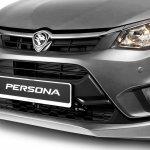 2016 Proton Persona silver front fascia