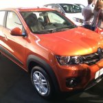 Brazilian-spec Renault Kwid front quarter showcased in new color