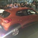 Brazilian-spec Renault Kwid rear showcased in new color