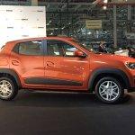 Brazilian-spec Renault Kwid side showcased in new color