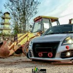 Custom Maruti Swift DDiS front three quarter with a remapped engine
