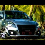 Custom Maruti Swift DDiS front with a remapped engine