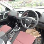 Hyundai Creta Anniversary Edition dashboard arrives at dealership