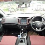 Hyundai Creta Anniversary Edition interior arrives at dealership