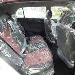 Hyundai Creta Anniversary Edition rear cabin arrives at dealership