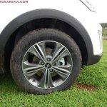 Hyundai Creta Anniversary Edition wheel arrives at dealership