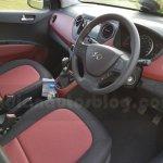 Hyundai Grand i10 Independence Day Edition interior seen at dealership
