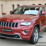 Jeep Grand Cherokee front quarter launched in India
