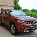 Jeep Grand Cherokee front quarter right launched in India