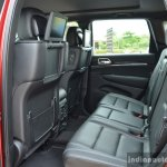 Jeep Grand Cherokee rear seats launched in India