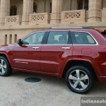 Jeep Grand Cherokee rear three quarter launched in India