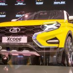 Lada XCODE Concept at MIMS 2016