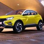 Lada XCODE Concept front three quarters