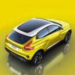 Lada XCODE Concept rear three quarters elevated view