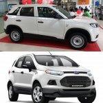Maruti Vitara Brezza LDI vs Ford Ecosport Ambiente