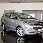 Modified Toyota Innova Crysta front three quarter In Images
