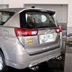 Modified Toyota Innova Crysta spoiler In Images
