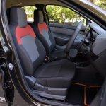 Renault Kwid 1.0 MT front cabin In Images
