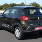 Renault Kwid 1.0 MT rear three quarter In Images