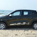 Renault Kwid 1.0 MT side First Drive Review