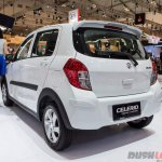 Suzuki Celerio Urban concept rear three quarter showcased at GIIAS