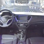 2017 Hyundai Verna dashboard makes world premiere