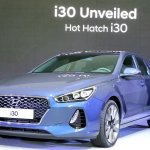 2017 Hyundai i30 front three quarters left side
