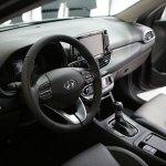 2017 Hyundai i30 interior