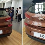 2017 Hyundai i30 rear fascia