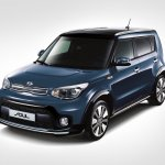 2017 Kia Soul (facelift) front three quarters