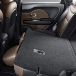 2017 Kia Soul (facelift) rear seats