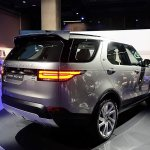 2017 Land Rover Discovery rear three quarters right side