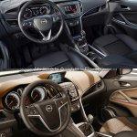 2017 Opel Zafira vs 2011 Opel Zafira interior