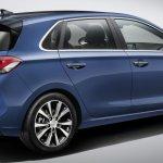 Hyundai i30 rear three quarter revealed ahead of Paris debut
