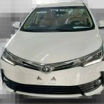 Toyota Corolla facelift front spied in Taiwan