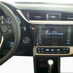 Toyota Corolla facelift interior spied in Taiwan
