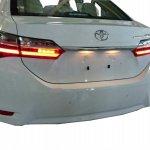 Toyota Corolla facelift rear spied in Taiwan