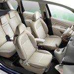 2013 Citroen C3 Picasso interior seat layout