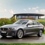 2017 BMW 3 Series Gran Turismo (facelift) front three quarters