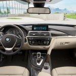 2017 BMW 3 Series Gran Turismo (facelift) interior dashboard
