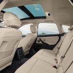 2017 BMW 3 Series Gran Turismo (facelift) rear seats