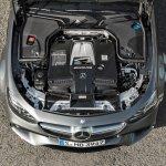 2017 Mercedes-AMG E 63 4MATIC+ engine bay