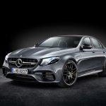 2017 Mercedes-AMG E 63 4MATIC+ front three quarters