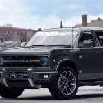 2020 Ford Bronco front three quarters rendering ninth image